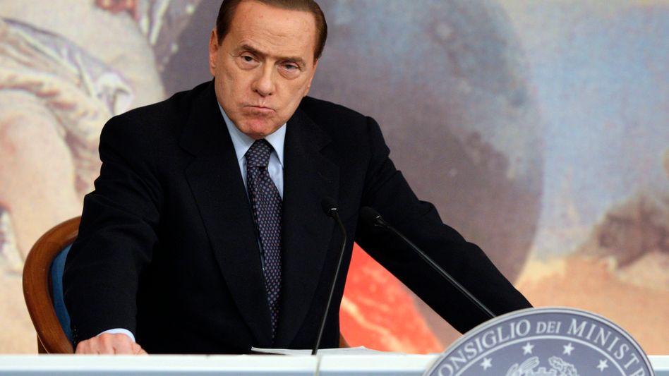 """Italiens Ministerpräsident Berlusconi: """"Die Einschätzung von Standard & Poor's scheint mehr von Medienberichten als von der Realität diktiert worden zu sein"""""""
