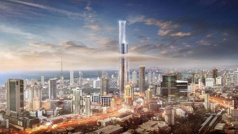 """""""World One Tower"""": Bilder vom demnächst höchsten Wohnturm der Welt"""