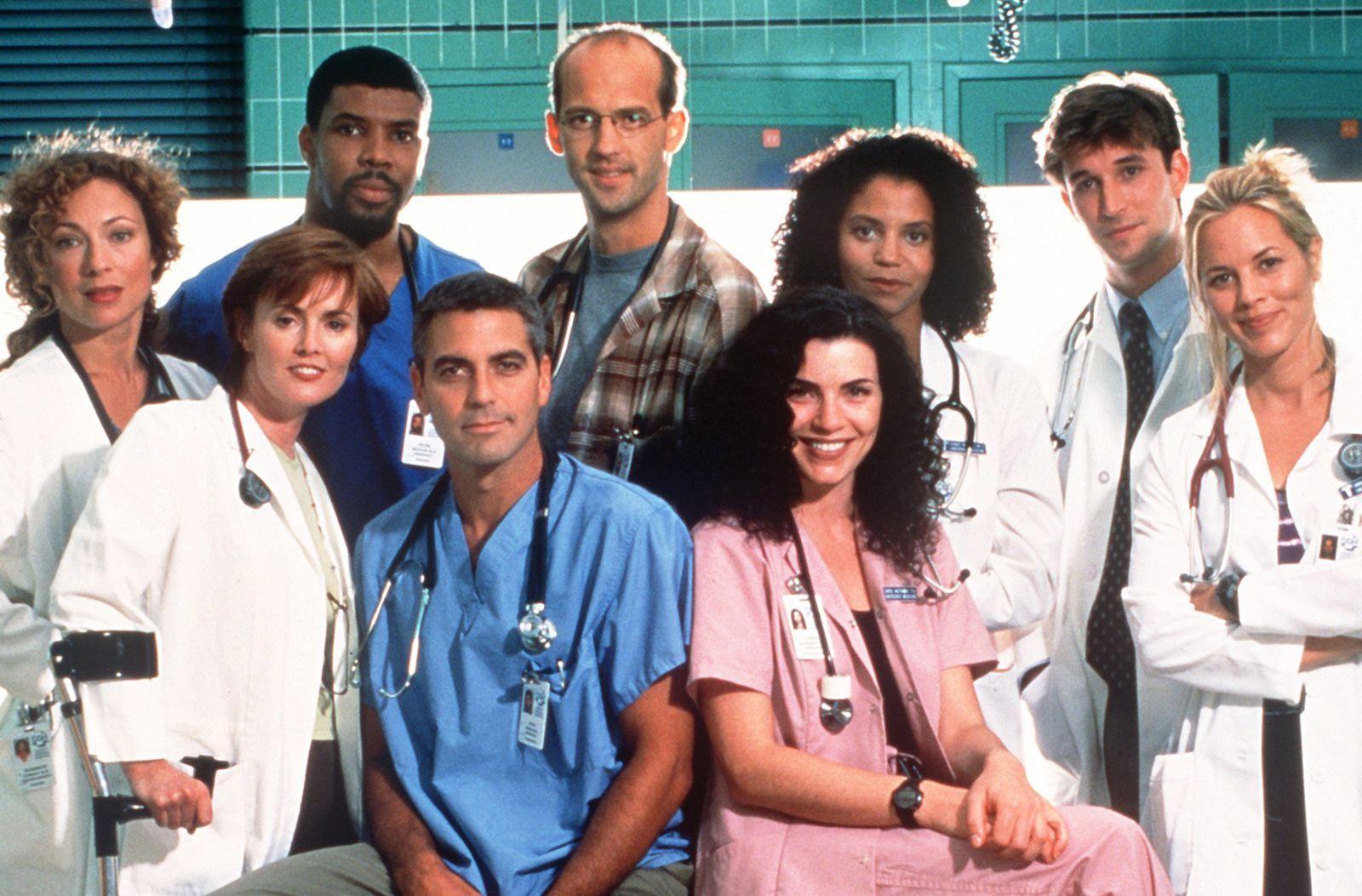 Emergency Room/ George Clooney