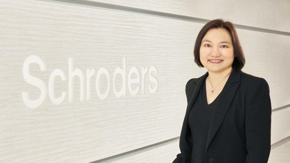 """Zwei goldene Dekaden: Louisa Lo und ihr """"Schroder Greater China Fonds""""."""