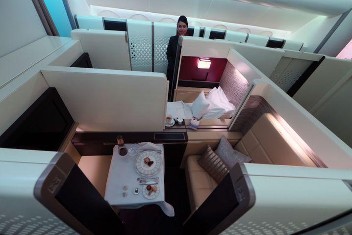 Ethiad Airways: So soll die neue First Class im Airbus A380 aussehen