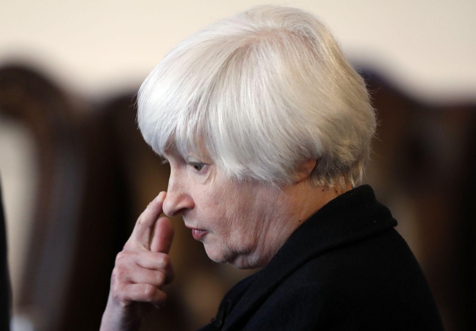 Fed-Chefin Janet Yellen
