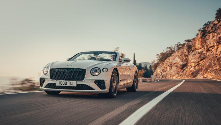 Autogramm Bentley Continental GT Cabriolet: Der Spazierfahrer