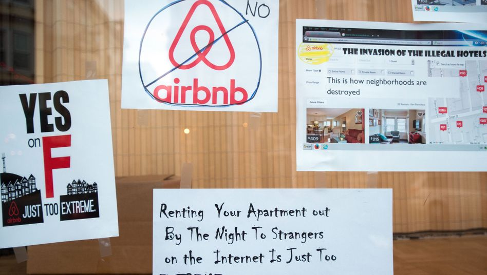 Anti-Airbnb-Proteste: In den USA tobt mittlerweile ein millionenteurer Kampf zwischen Airbnb und seinen Gegnern