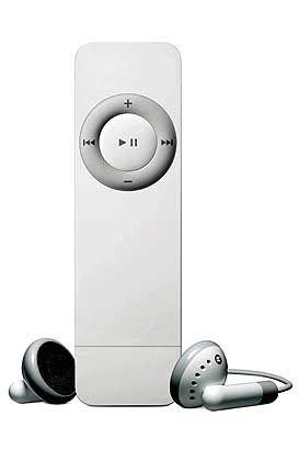iPod shuffle: 25 Gramm, Flash-Speicher, kein Display
