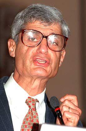 Robert Rubin: Das Vorstandsmitglied der Citigroup war unter Präsident Bill Clinton bereits Finanzminister. John Kerry hat Rubin als möglichen Nachfolger für US-Notenbankchef Alan Greenspan ins Spiel gebracht.