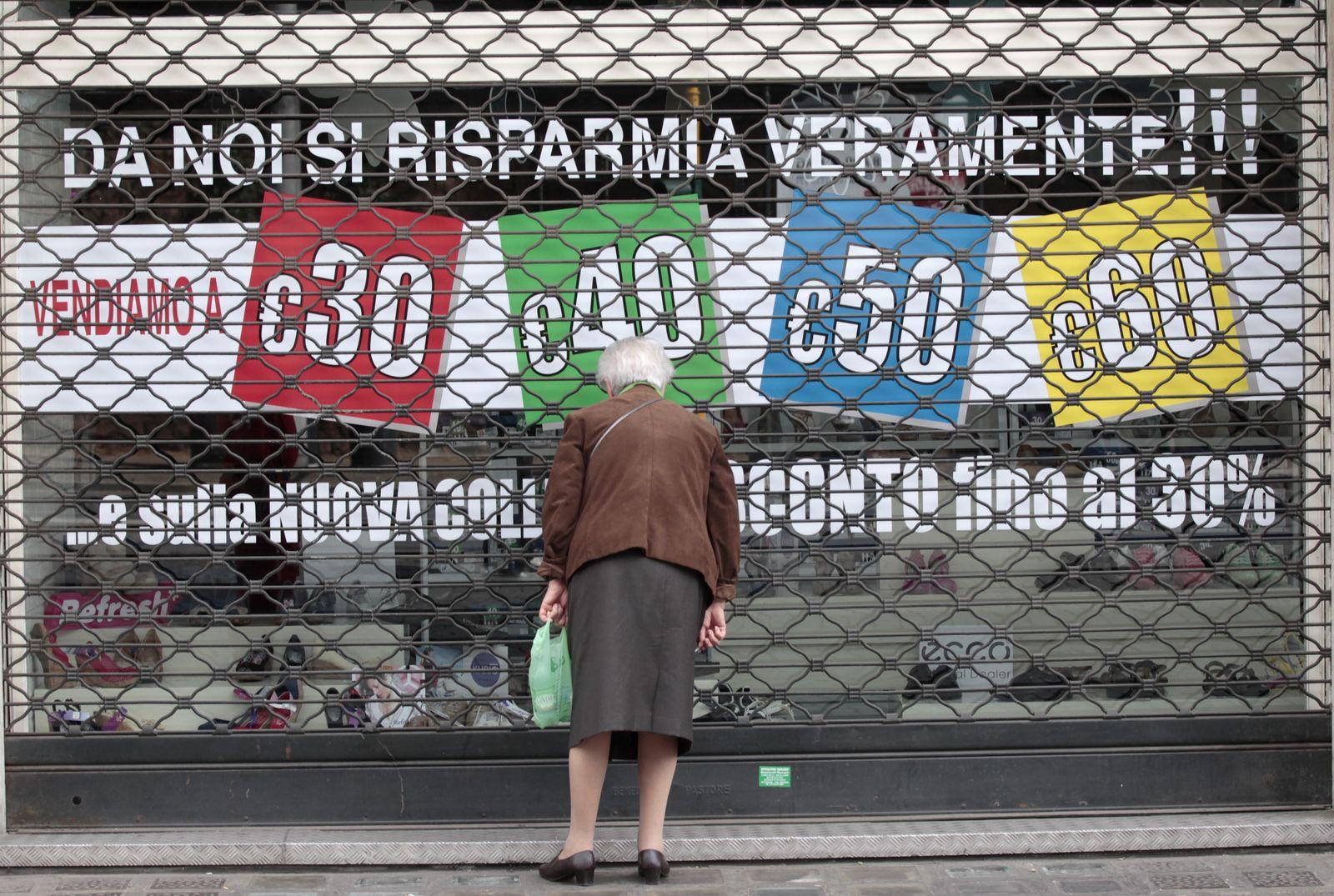 Italien / Wirtschaft / Krise