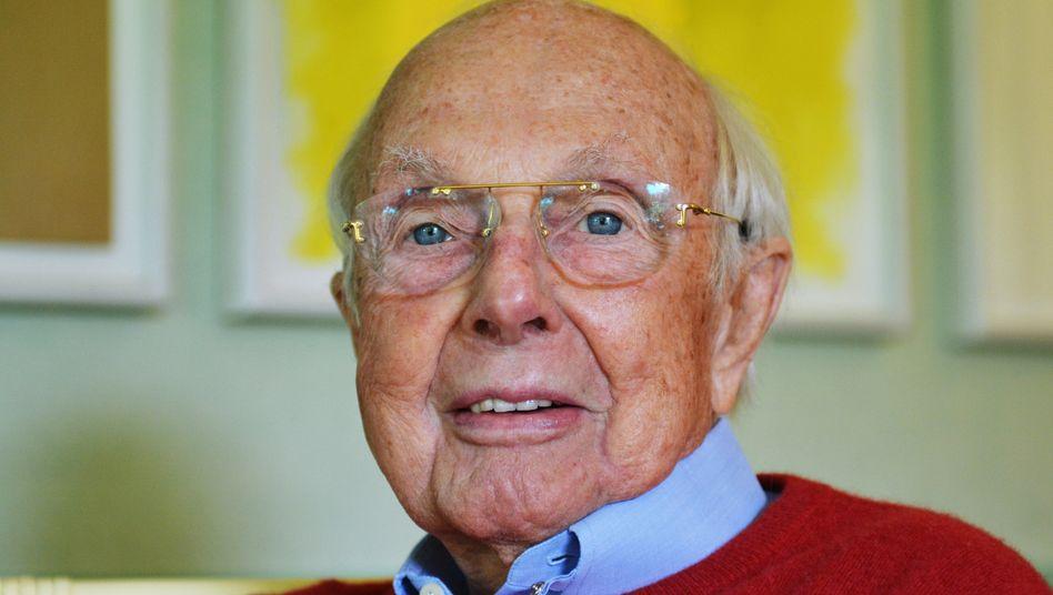 Wurde 89 Jahre alt: Katjes-Gründer Klaus Fassin
