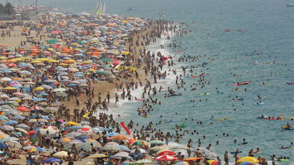 Ein Bild aus besseren Zeiten: Spanien kämpft weiterhin gegen die Wirtschaftskrise