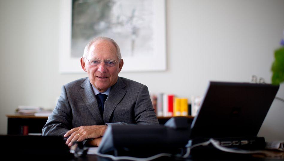 Bundesfinanzminister Schäuble: Zuckerbrot und Peitsche für Griechenland