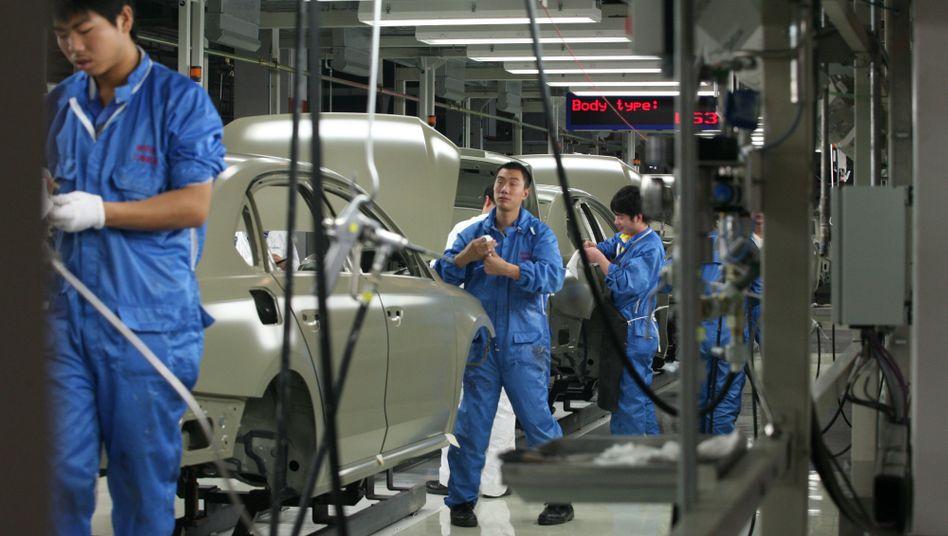 Volkswagen-Fertigung in China: Deutsche Hersteller sind in Fernost erfolgreich