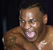 Böser Blick, böse Schulden: Mike Tyson ist pleite