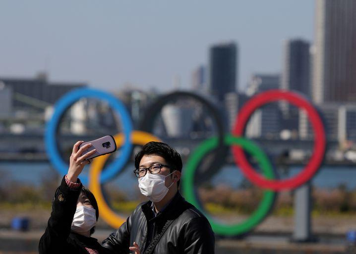 Der Corona-Pandemie zum Trotz: Der Glauben an die Spiele scheint in Tokio unerschütterlich zu sein