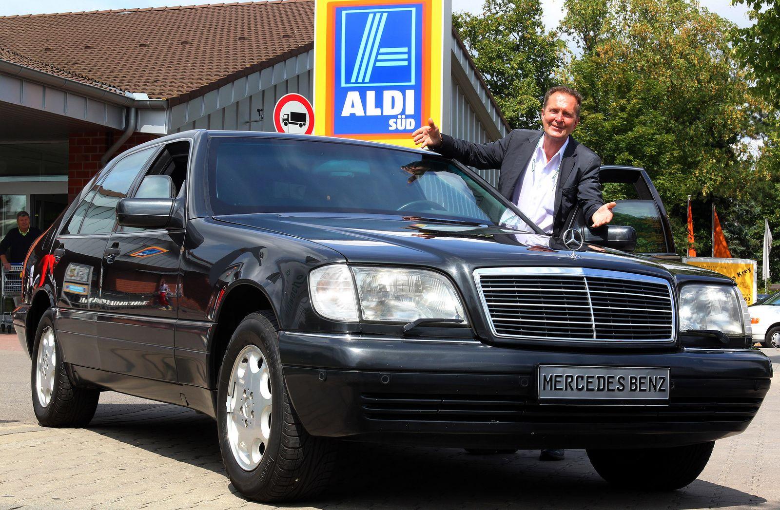 Theo Albrecht / Mercedes / Panzer-Limousine von Aldi-Milliardär verkäuft