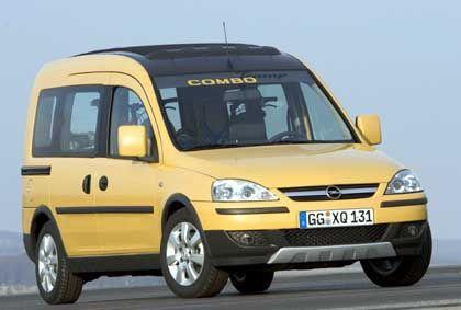 Zweckgemeinschaft: Der Nachfolger des Opel Combo (im Bild) soll sich zahlreiche Bauteile mit Renaults Kastenwagen Kangoo teilen