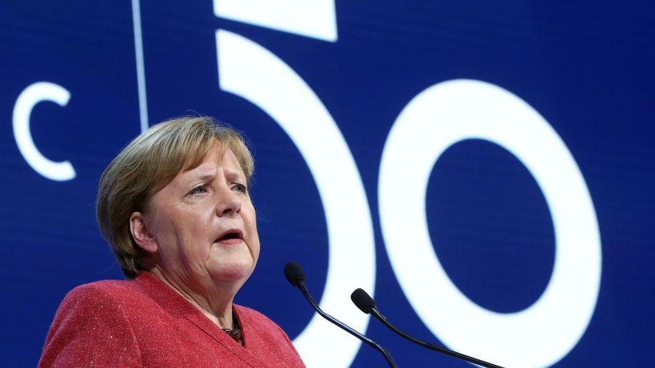 Angela Merkel: Diplomatisch fehlerfrei verkleidete Kampfansage an die USA unter der Präsidentschaft von Donald Trump