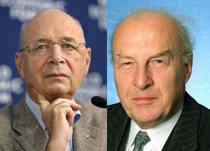 Visionäre der Wirtschaft: Langmann und Schwab