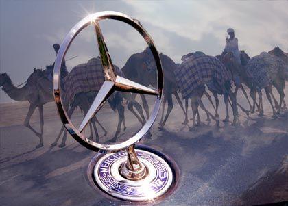 Neue Allianz: Der arabische Staatsfonds Aabar aus Abu Dhabi steigt bei Daimler ein
