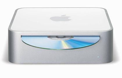 Mac mini: Rechner von der Größe eines CD-Stapels