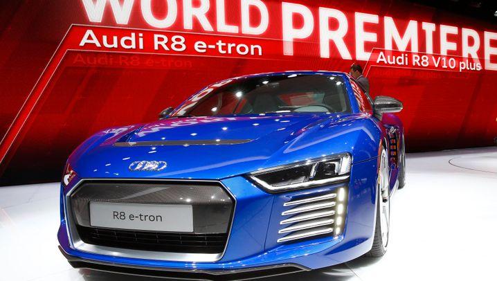 Deutsche Luxus-Elektroautos: Hier kommen die Tesla-Fighter