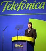 Stark unter Druck: Telefónica-Chef Juan Villalonga