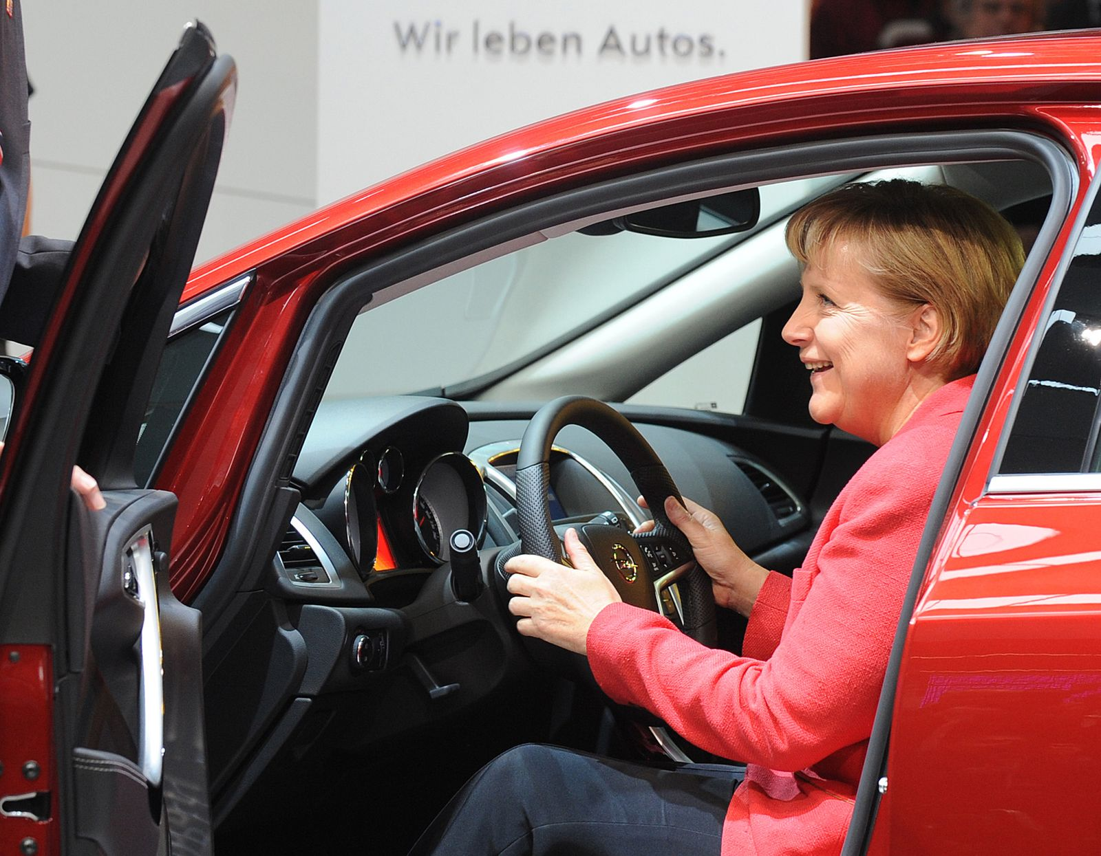 Auto / Politiker / Merkel