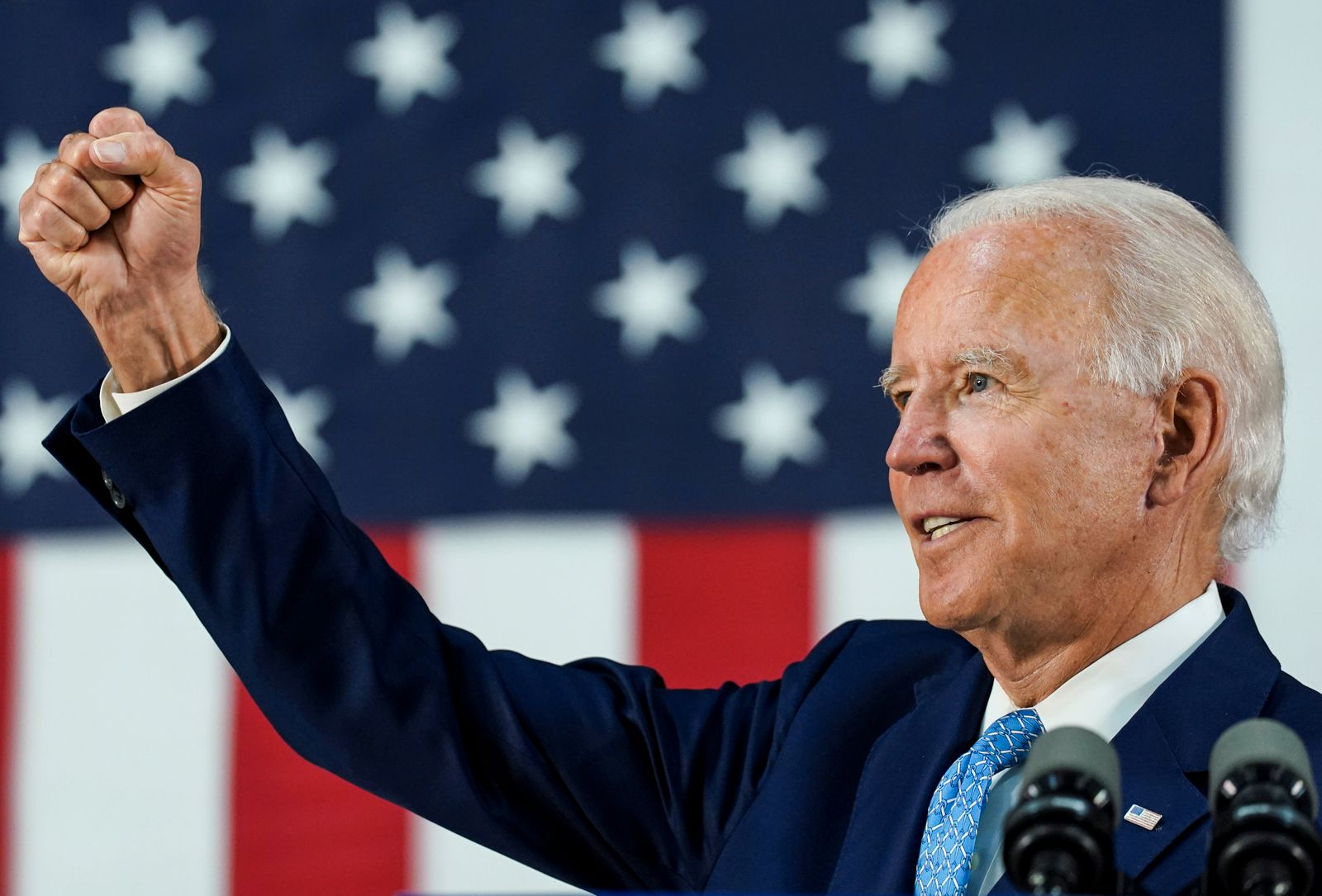 FILE PHOTO: Democratic U.S. presidential candidate Biden holds campaign event in Wilmington, Delaware