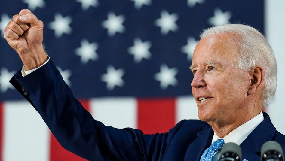 """""""Ich bin nicht so liberal wie die Leute denken"""" - Joe Biden: Demokrat, Präsidentschaftskandidat, radikaler Retro."""