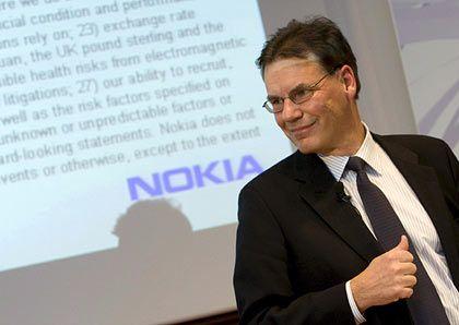 Nokia-Chef Kallasvuo: Sucht den Kontakt zur deutschen Öffentlichkeit