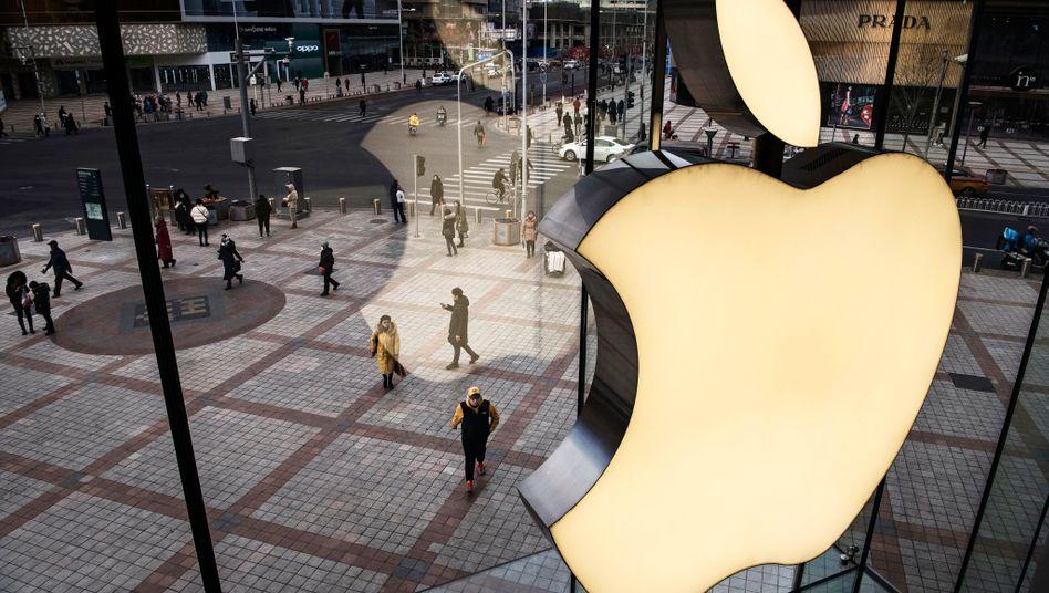 Apple-Geschäft in Chinas Hauptstadt Beijing