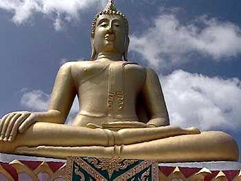 Entspannt: Der Buddhismus spielt in Thailand eine große Rolle