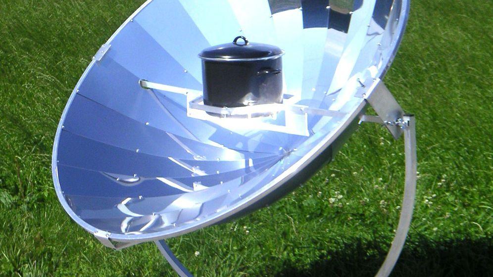 Solarkocher: Garen mit der Kraft der Sonne