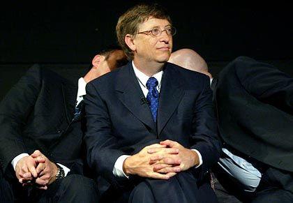 Bekämpft Seuchen: Bill Gates