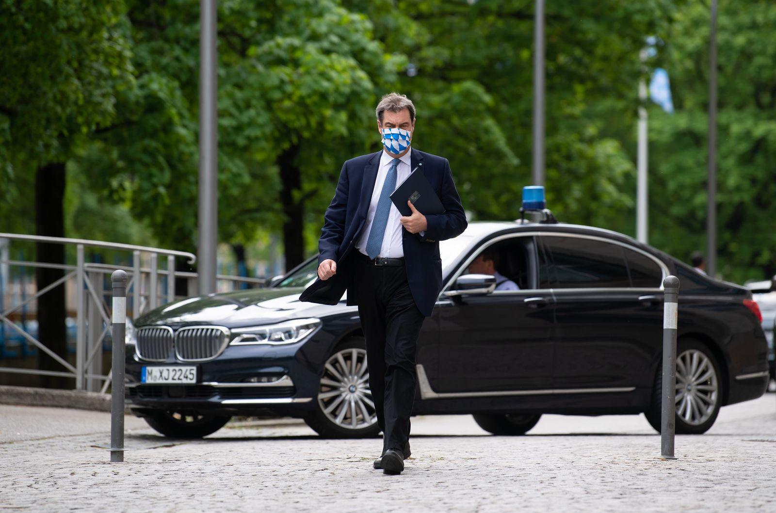 Coronavirus - Kabinettssitzung Bayern