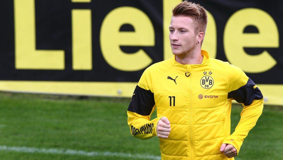 Fußball-Star Marco Reus: Medien spekulieren über einen Abschied des Leistungsträgers aus Dortmund - das nun eingesammelte Geld könnte ihn vom Bleiben überzeugen