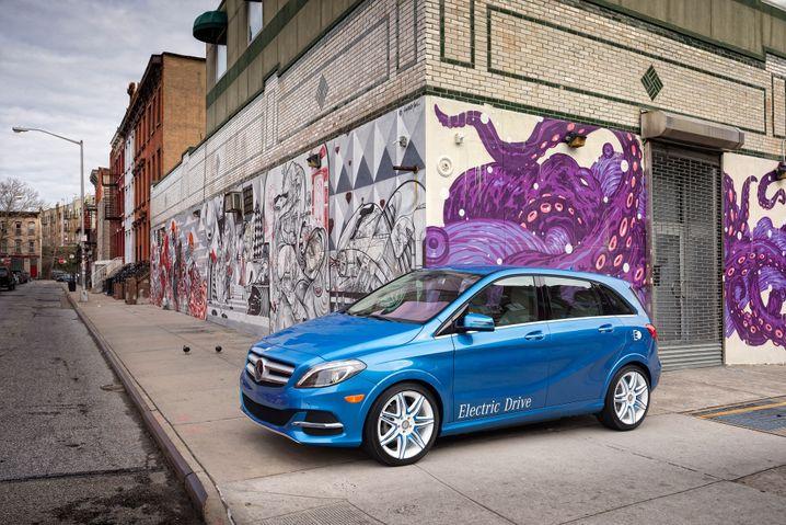 Mercedes B-Klasse Electric Drive: Trotz Tesla-Antriebs auch in den USA kein Renner