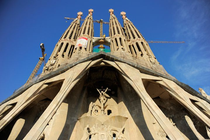 Barcelona: Die Sagrada Familia ist ein touristischer Hingucker - und bietet offenbar auch die passende Kulisse für hochpreisiges Shopping