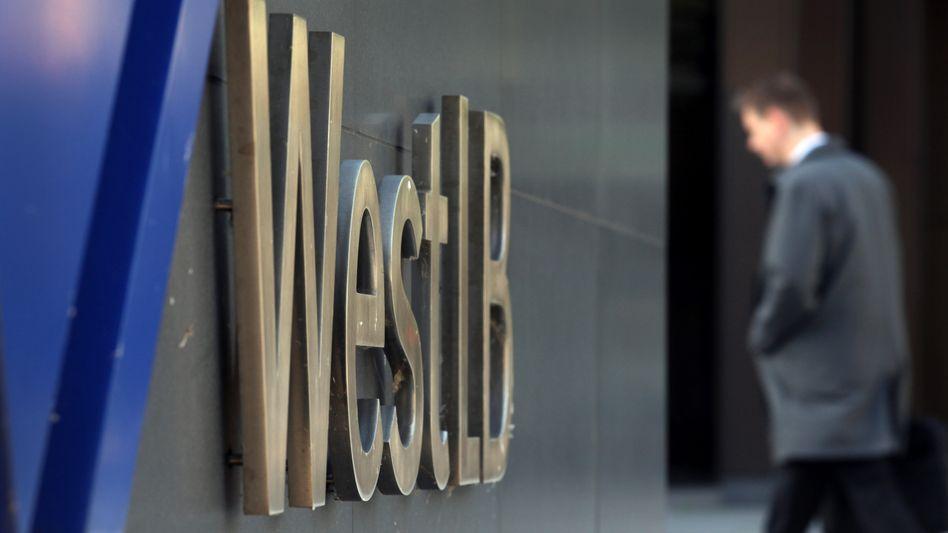 2012 zerschlagen: Die ehemals mächtige Landesbank WestLB.