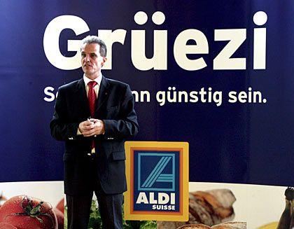 Gehört zu Aldi Süd: In der Schweiz wurden 2005 die ersten Läden eröffnet
