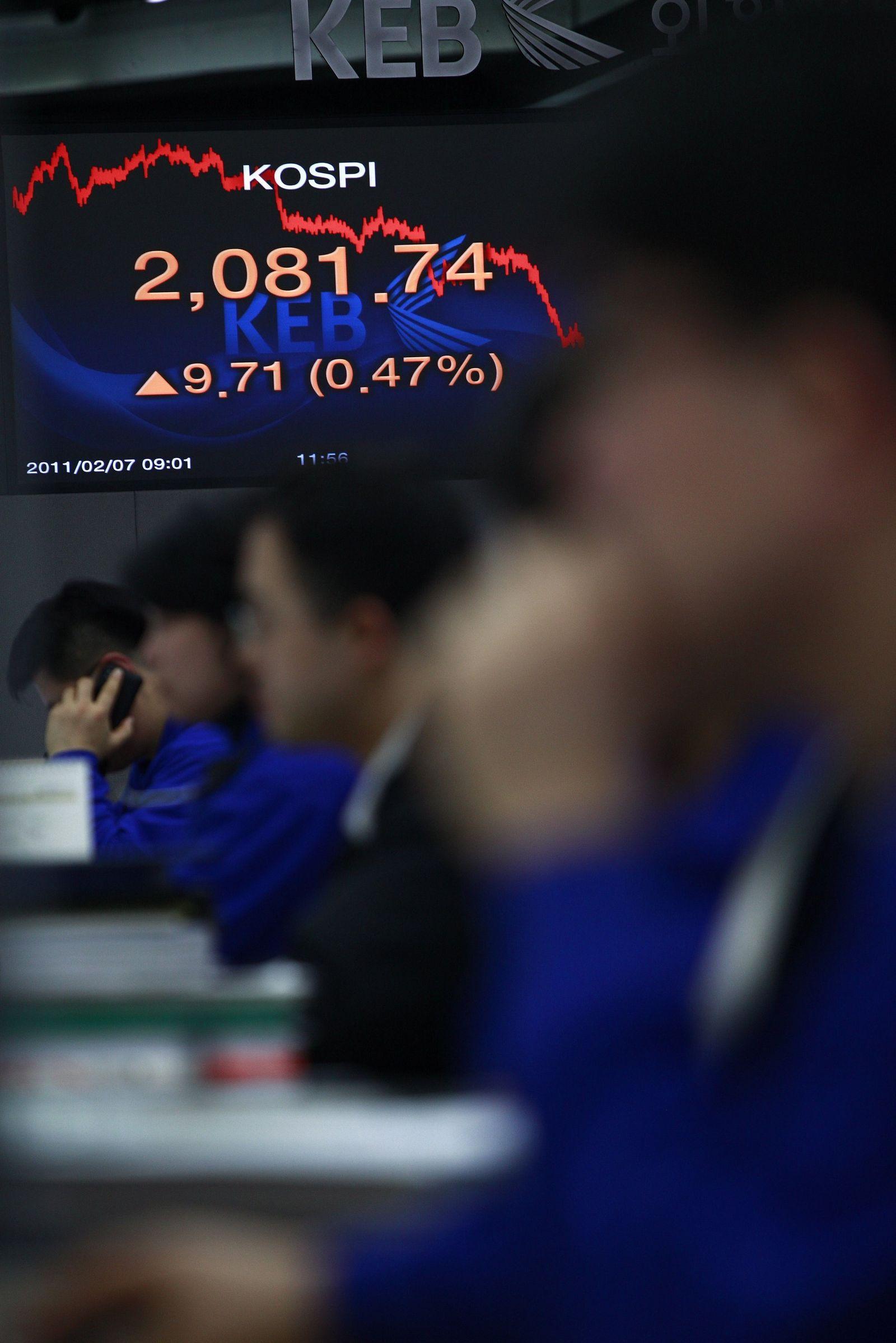 Südkorea / Aktienmarkt / Kospi / Börse