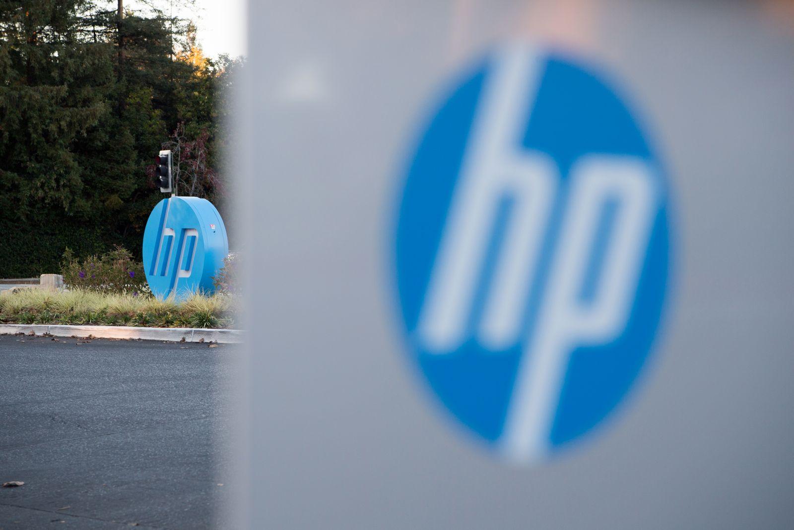 Hewlett-Packard HP/ Logo/ Palo Alto