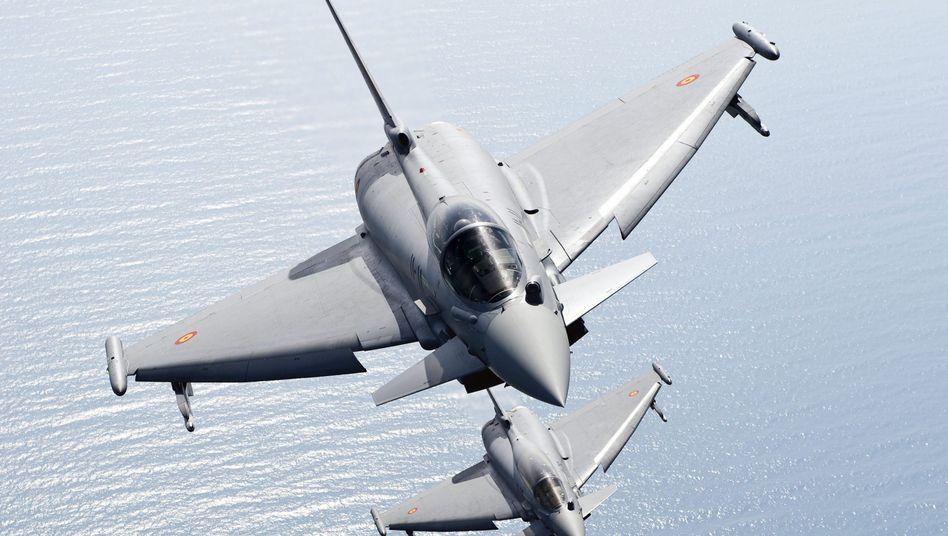 """Zwei """"Eurofighter"""": Angebliche Unterlagen zur Konkurrenz sind verschollen"""