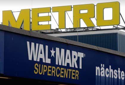 Supercenter mit hohen Verlusten: Die 85 Abverkaufsstellen von Wal-Mart in Deutschland gehören nun Metro