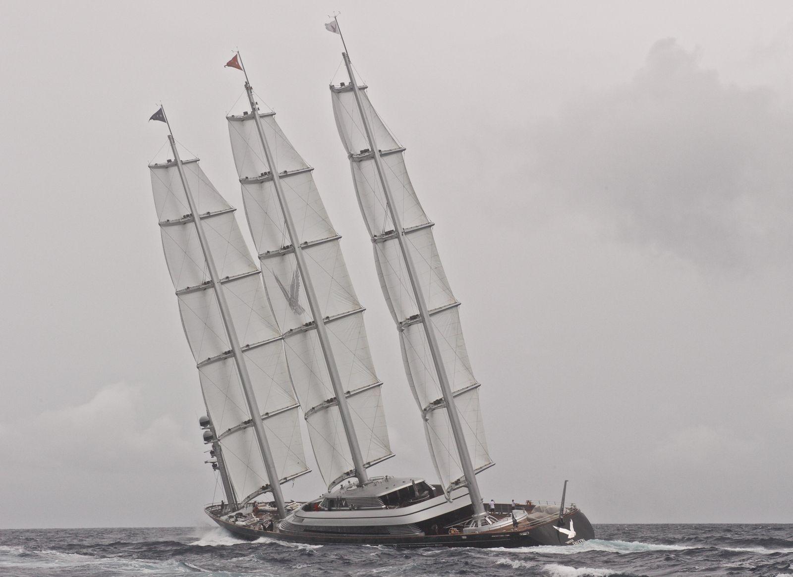 EINMALIGE VERWENDUNG Maltese Falcon / Segelyacht