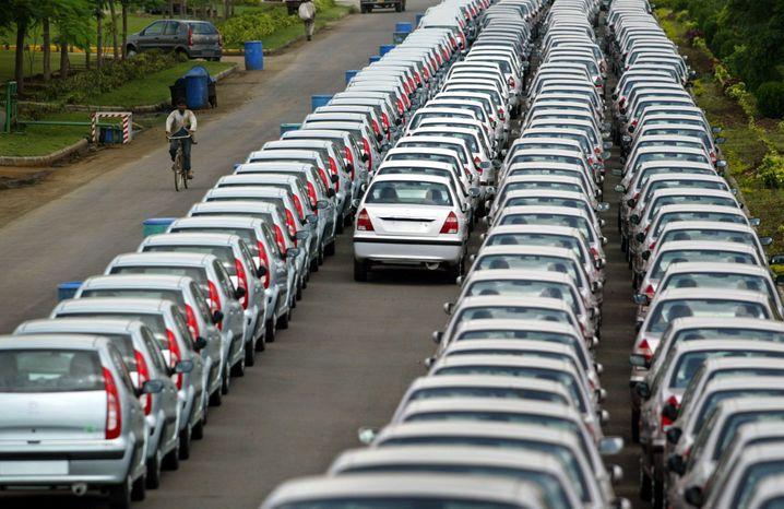 Autos für (fast) jeden: Auch den Umsatz von Tata will Uber ankurbeln
