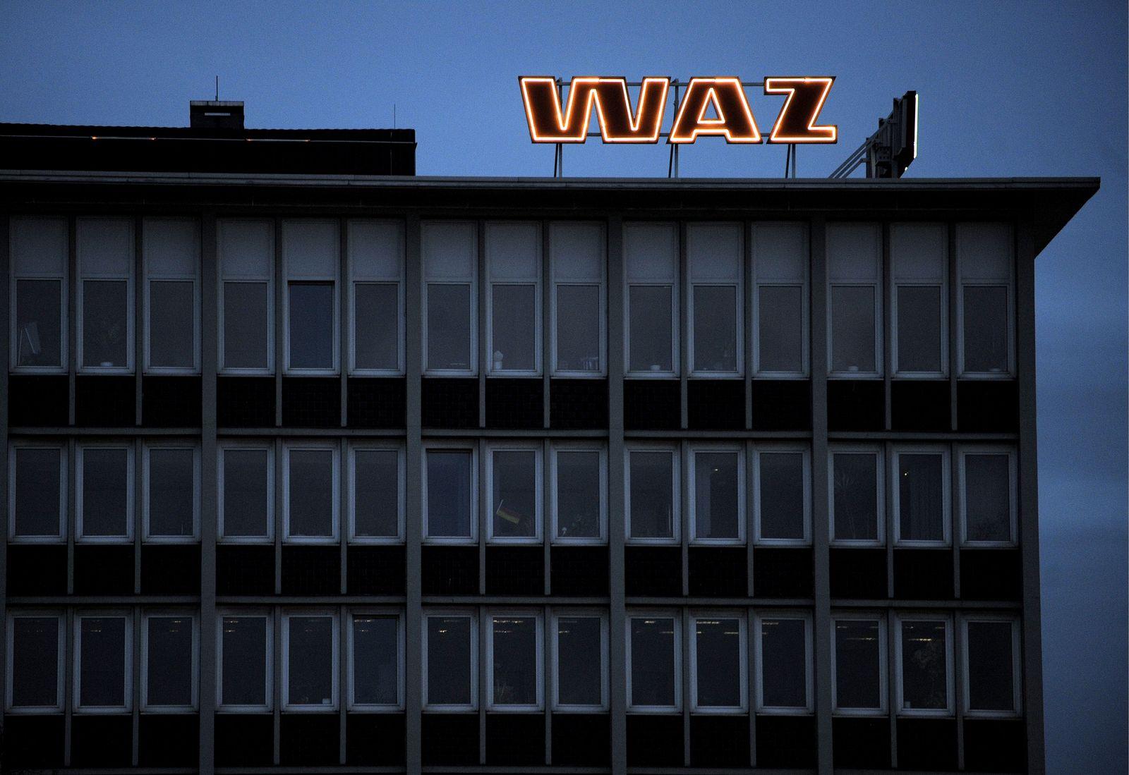 NICHT VERWENDEN NRW-Zeitungen / WAZ-Mediengruppe