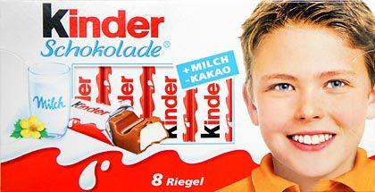 """Niederlage für Ferrero: Kein Exklusivrecht für """"Kinder"""""""