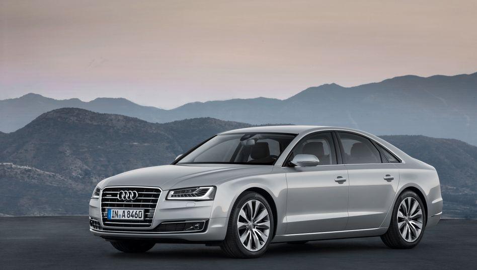 Audi A8 der dritten Generation - in der Version, die von 2013 bis Mitte 2017 verkauft wurde