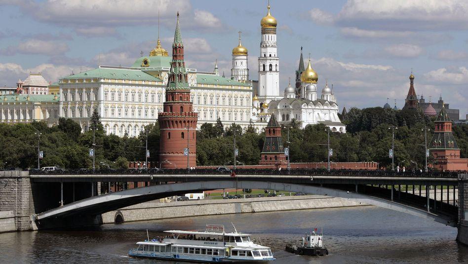 """Kreml: """"Es ist die Wirtschaft, die die Fehler der Politik ausbaden muss"""", sagte Wirtschaftsminister Uljukajew in Stuttgart"""