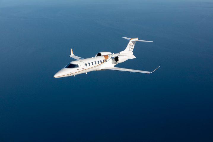 Bombardier Learjet 75. Der kanadische Hersteller setzt die Produktion von Business-Jets aus